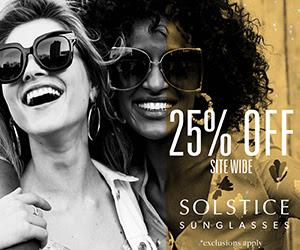 solstice sunglasses deals