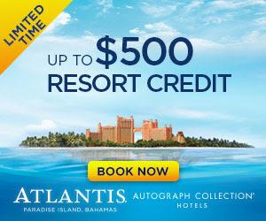 atlantis resort credit