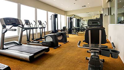 isla mujeres palace best place to work out caribbean