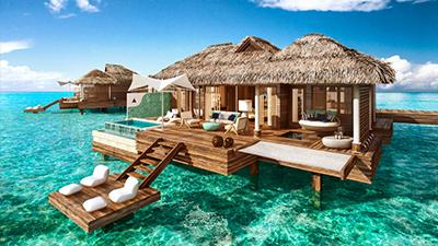 overwater bungalows best villas jamaica
