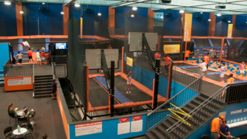 best things to do in cancun mexico sky zone