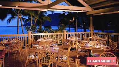 kaua'i marriott resort hawaii best places to dine