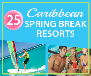 caribbean spring break resorts college students party
