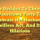 Wife Decides To Throw A Vasectomy Party To Celebrate Her Husband's Selfless Act, And It's Hilarious