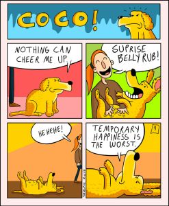 coco the dog ozan draws comics 5 5a38c8afbfe03 png  700 247x300 - 17 Hilariously Pessimistic Comics About Coco The Jolly Dog That Every Pessimist Will Relate To