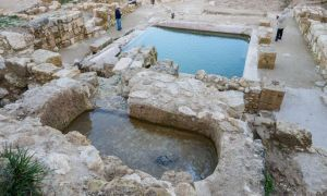 1517508155 mysterious pool and fountain discovered at ancient christian site in israel - Mysterious pool and fountain discovered at ancient Christian site in Israel