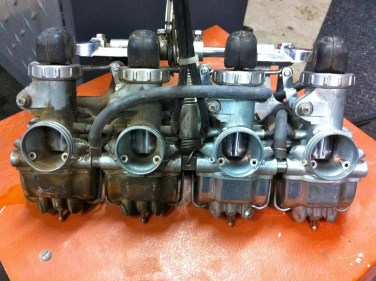 carburettors before and after ultrasonic cleaning