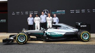 Petronas F1 team photo