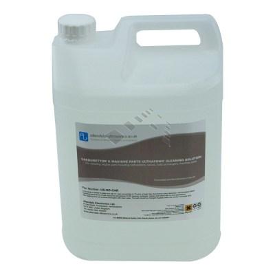 5 Ltr bottle of carburettor cleaner for ultrasonic cleaning