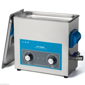 image of an 6 Ltr analogue ultrasonic cleaner