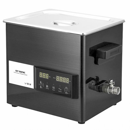9 litre ultrasonic cleaner with touch screen operation
