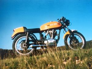 Ducati 250 Desmo circa 1973.