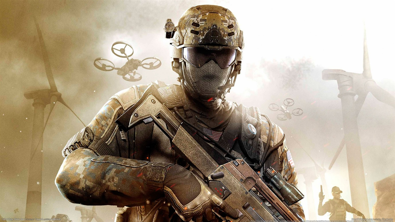 Wallpaper Hot Game Call Of Duty Black Ops 2 1920x1080 Full HD 2K Picture Image