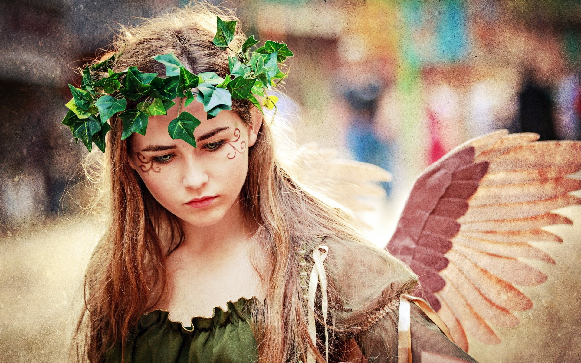 Wallpaper Angel Girl In Summer 1920x1200 HD Picture Image