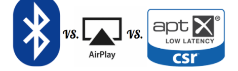 bluetooth vs. aptx airplay best wireless format sound quality