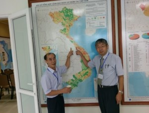 The Proposal for seismic network and seismic exploration profile in the North-middle territory of Vietnam.