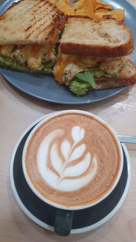 Boston Lane is a coffee shop in Dubai