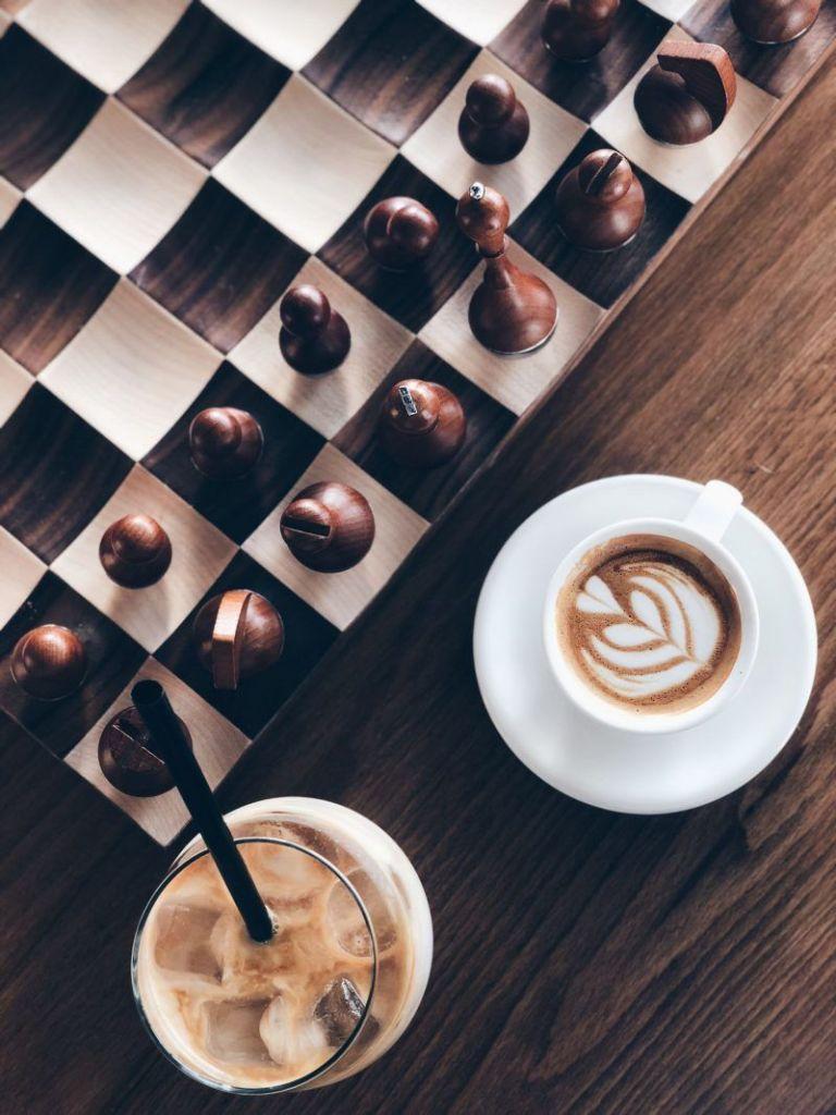 Drop Dubai is a coffee shop in Dubai