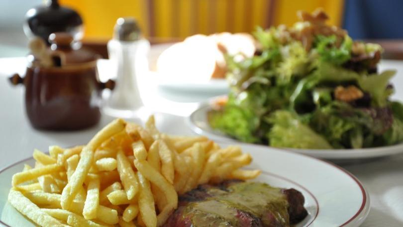 Entrecote Cafe de Paris is a steakhouse in Dubai
