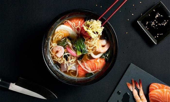 Miyabi Sushi & Bento is a restaurant in Dubai