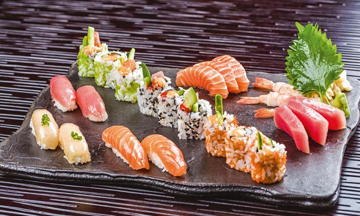 Asia Asia serves great sushi