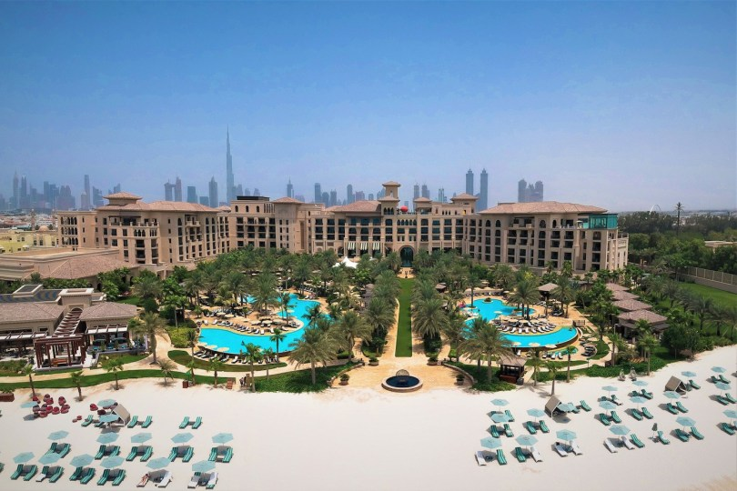Four Seasons Resort Dubai is a lavish five-star hotel on Jumeirah Beach