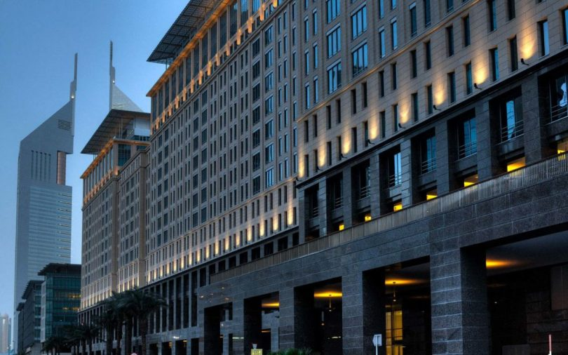 Ritz-Carlton Dubai is a luxurious multinational hotel