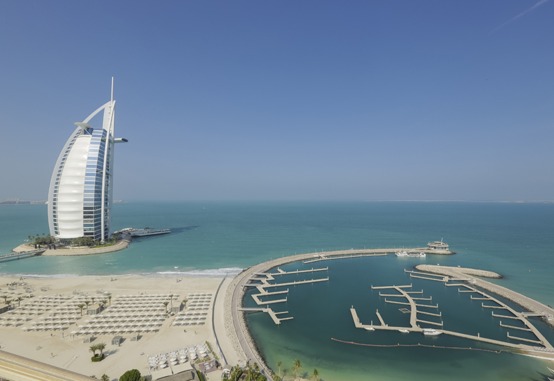 Jumeirah beach is one of the popular places in Dubai