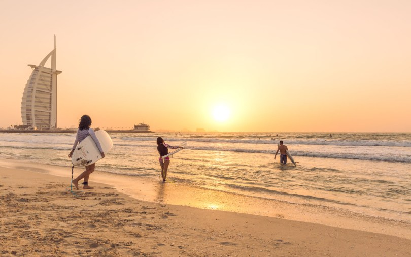 Sunset Beach is a great destination for family picnics