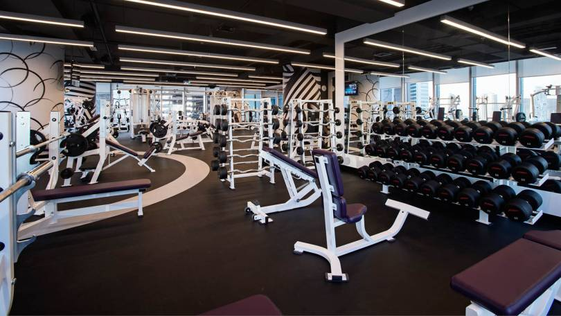 The Gym is the best gym in Dubai