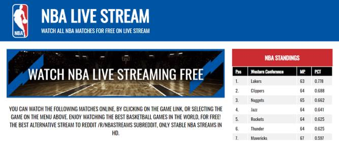 Best 10 Free Sports Streaming Sites 2020 Best 10 Websites