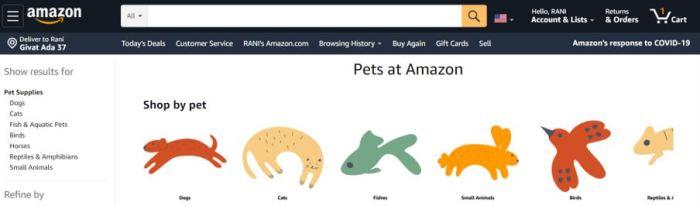 amazon pets