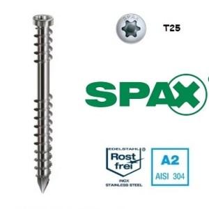Spax - Wkręt tarasowy nierdzewny srebrny
