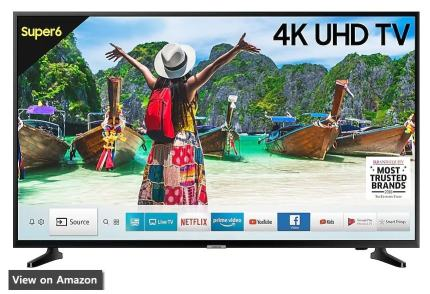 Best 4K TV In India samsung 6100