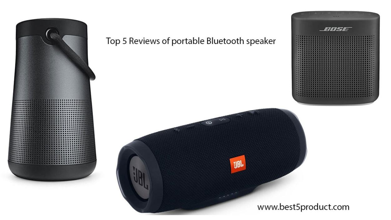 Best Portable Bluetooth speaker : Top 5 Reviews of portable