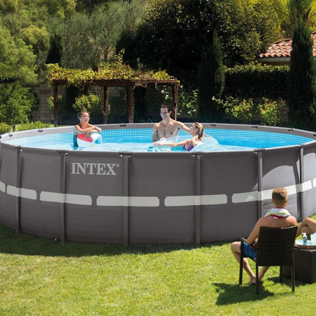 Intex Ultra Frame Pool Set, 18-Feet by 52-Inch Review