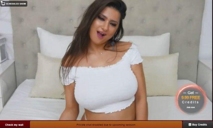 Amateur web cam masturbation