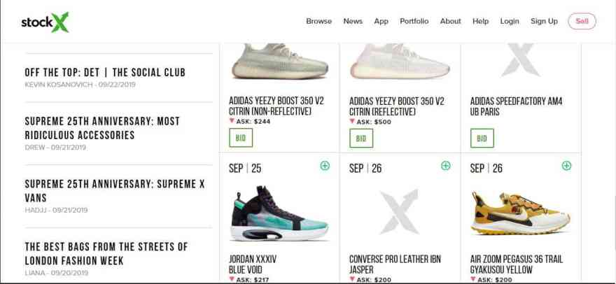 Best Place to Buy Sneakers: StockX VS GOAT