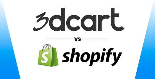 Ecommerce Comparison: 3Dcart VS Shopify