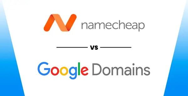 Namecheap VS Google Domains (2019) Features & Pricing