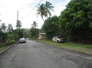 Antiguan's don't wreck their cars they just leave them !