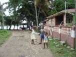Kids in Antigua near Carlisle Bay