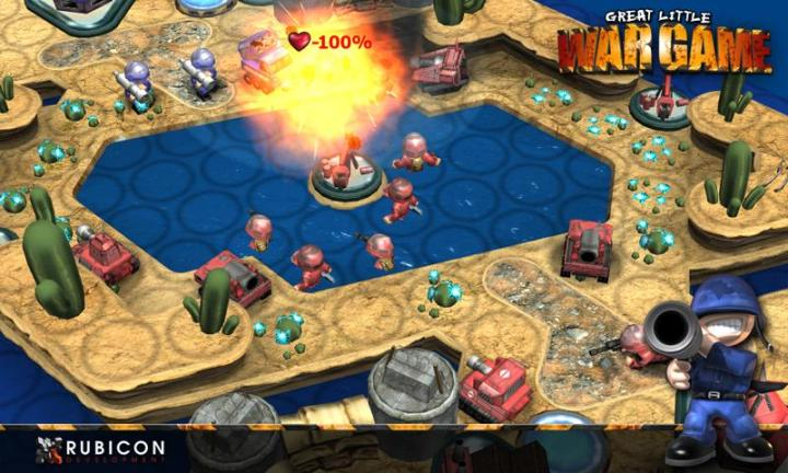 Review of Android Great Little War Game App Great Little War Game App for Android