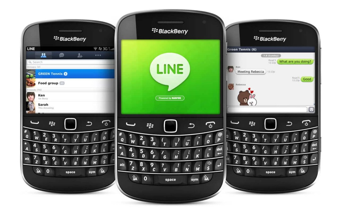 LINE for BlackBerry Download (Latest Version)