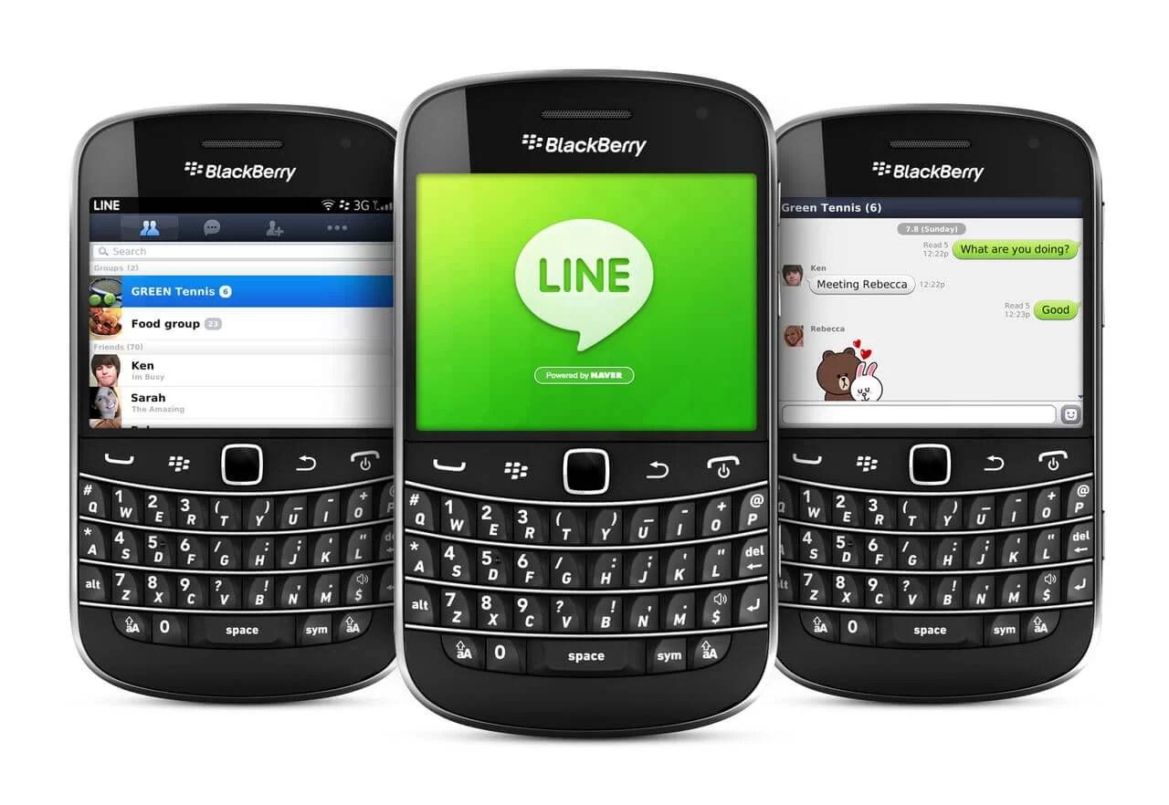 LINE for BlackBerry Download (Latest Version)