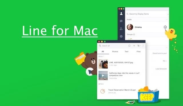 LINE for Mac Download Free [New Version]