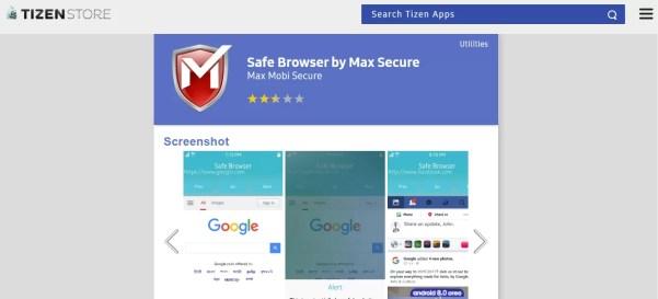 Safe Browser - UC Browser for Tizen Alternative
