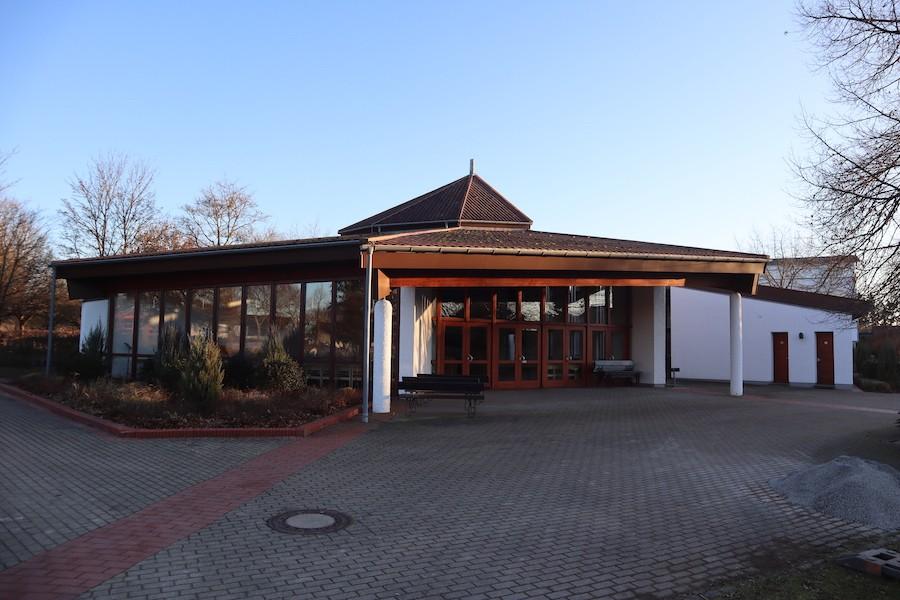 Friedhof Blankenloch - Aussegnungshalle
