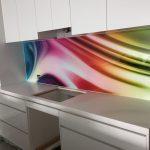 glass splashbacks colours