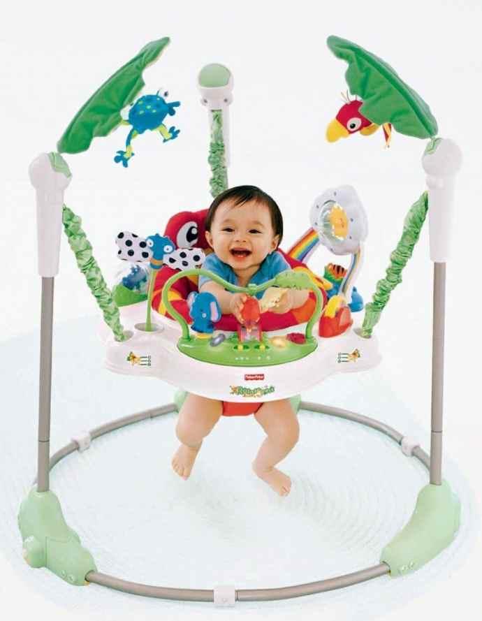 89789d3b2d1c Fisher-Price Rainforest Jumperoo – Best Baby Jumper